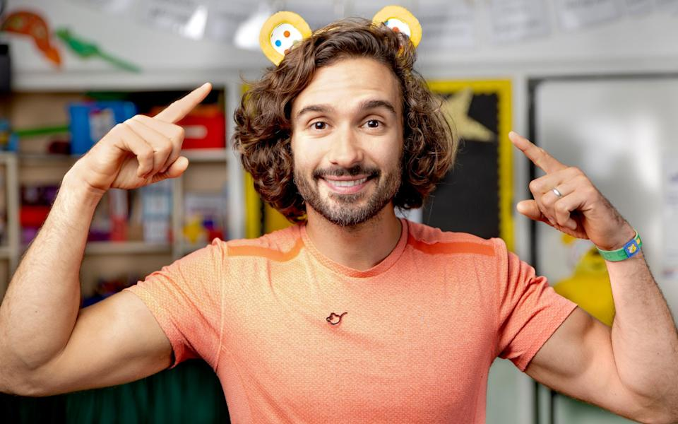 """Joe Wicks: """"When I was growing up, people never spoke to their kids about this stuff"""" - BBC"""