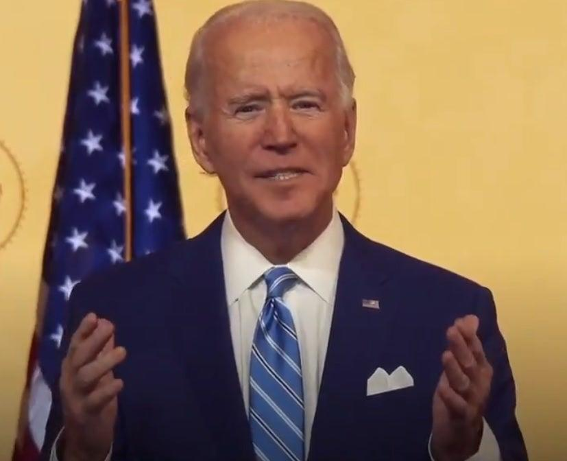 <p>Biden has made tackling the coronavirus his administration's top priority</p> (Biden/Harris transition team)