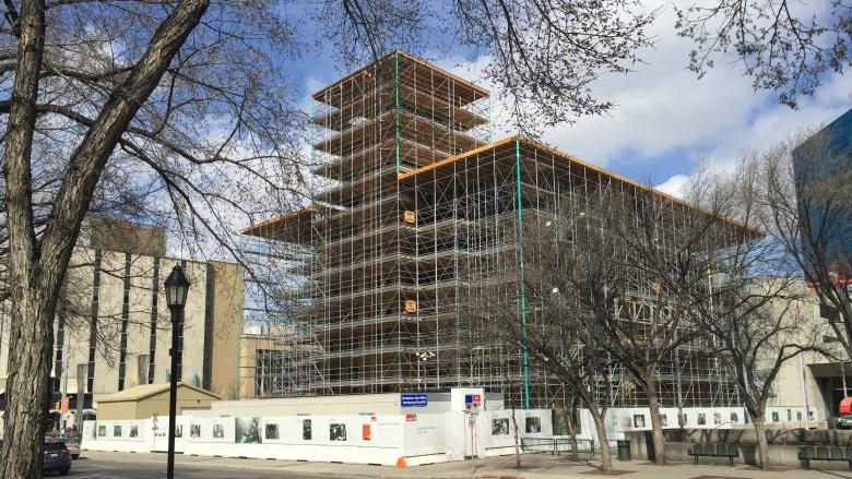 Buy local? Calgary City Hall restoration to use sandstone from Poland, Spain and U.S.