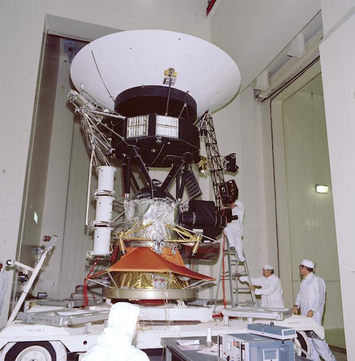 voyager 1 in 1976