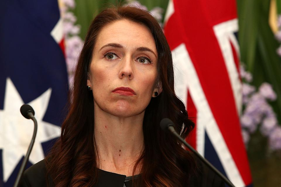 """Ms Ardern acknowledged that perhaps the government needed to be clearer in its messaging, """"Entry's not the same as an MIQ place, and that might be something we have to clarify on our side as well."""" Photo: Getty"""