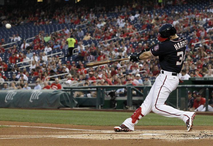 Bryce Harper quieted the doubters with an exceptional 2015. (AP Photo)