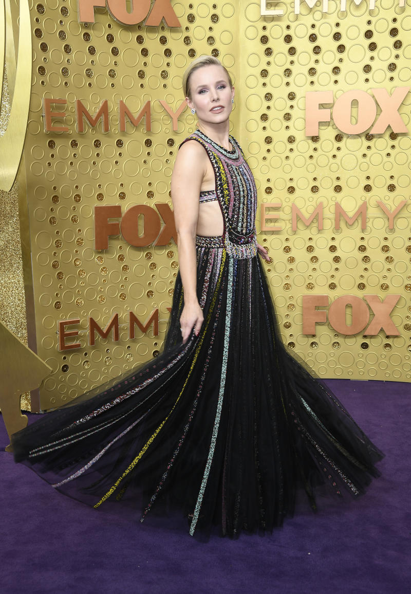 Kristen Bell attends the 71st Emmy Awards at Microsoft Theater in Los Angeles, California.