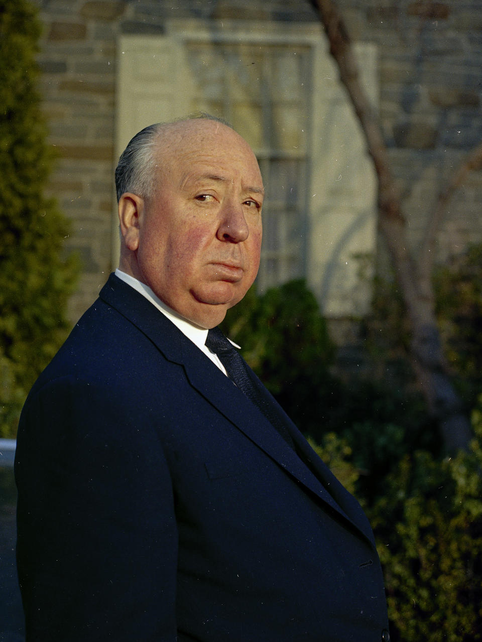 Film director Alfred Hitchcock is seen in 1968.  (AP Photo)