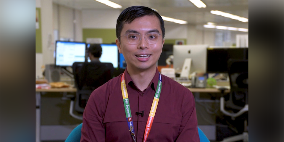 55) Louis Ng, Senior Manager, Early Careers Talent Acquisition, Fidelity International. Photo: Fidelity International