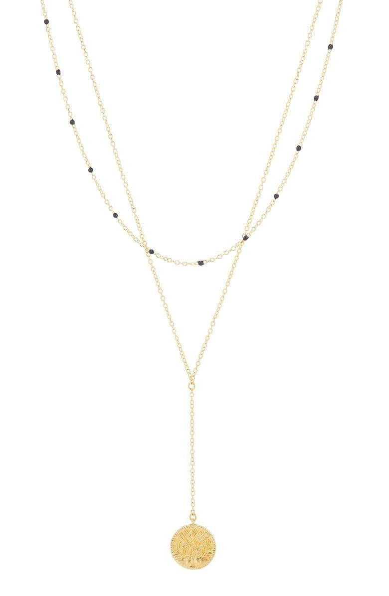 <p>This <span>Gorjana Milano Coin Layered Necklace</span> ($48) is a great everyday piece.</p>
