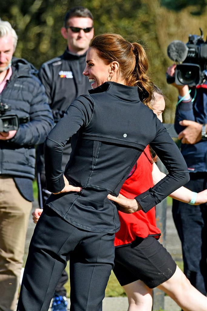 The Duke and Duchess of Cambridge visited the City of Derry Rugby Football Club where they saw a range of cross community sporting activities involving young people in Northern Ireland. - Credit: Splash