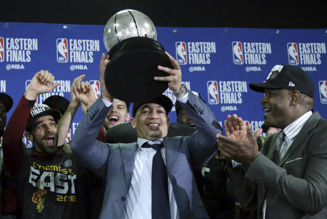 In an interview with ESPN, Tyronn Lue revealed he's been getting treatment for anxiety after taking a break mid-season. (AP Photo/Elise Amendola)