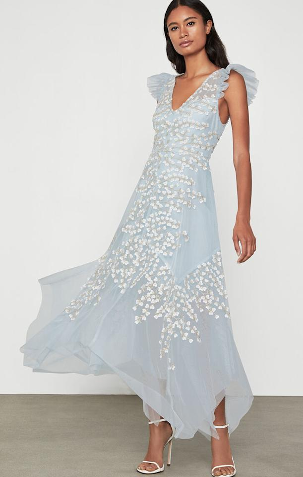 """<p><strong>BCBG</strong></p><p>bcbg.com</p><p><strong>$428.00</strong></p><p><a href=""""https://go.redirectingat.com?id=74968X1596630&url=https%3A%2F%2Fwww.bcbg.com%2Fen%2Fembroidered-tulle-ruffle-dress%2FENQ6262219-452.html&sref=https%3A%2F%2Fwww.seventeen.com%2Fprom%2Fg1379%2Fvintage-prom-dresses%2F"""" target=""""_blank"""">Shop Now</a></p><p>Every other floral dress can go home, because this elegant embroidered number has officially won prom.</p>"""