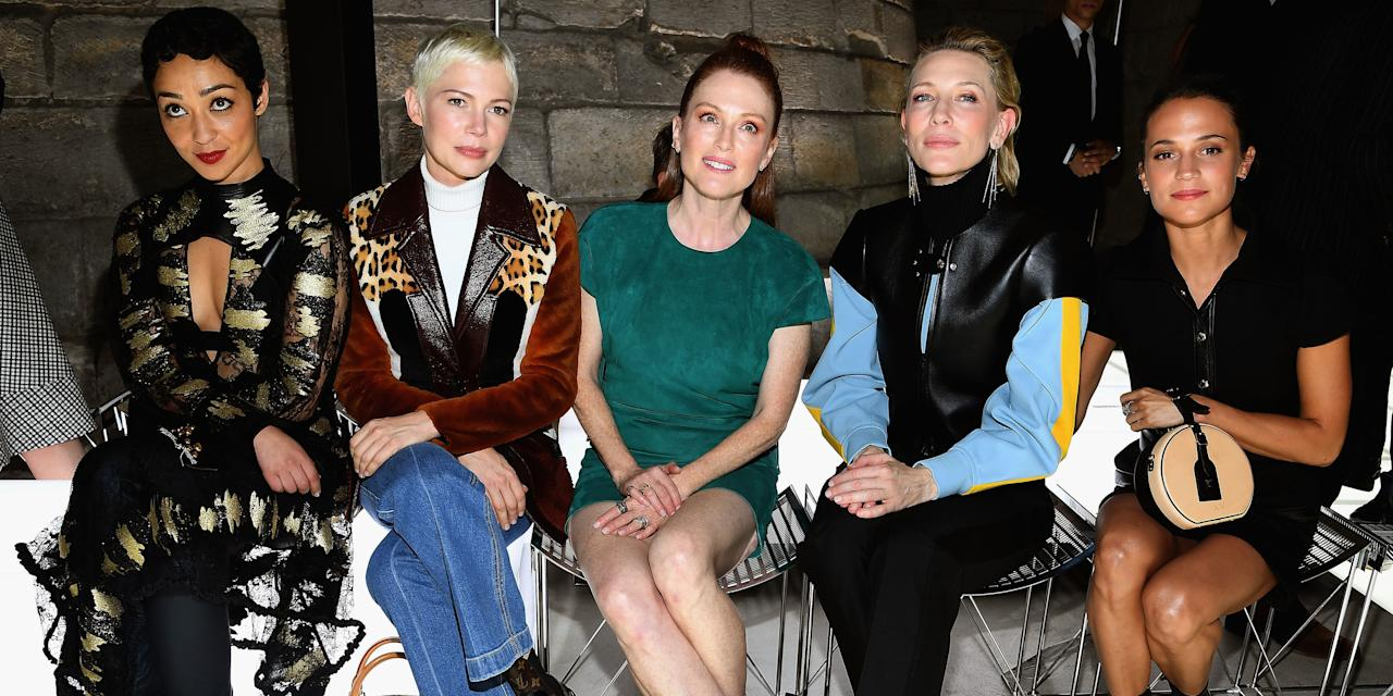 <p>Catch up on all the most glamorous moments of the final week of fashion month</p>
