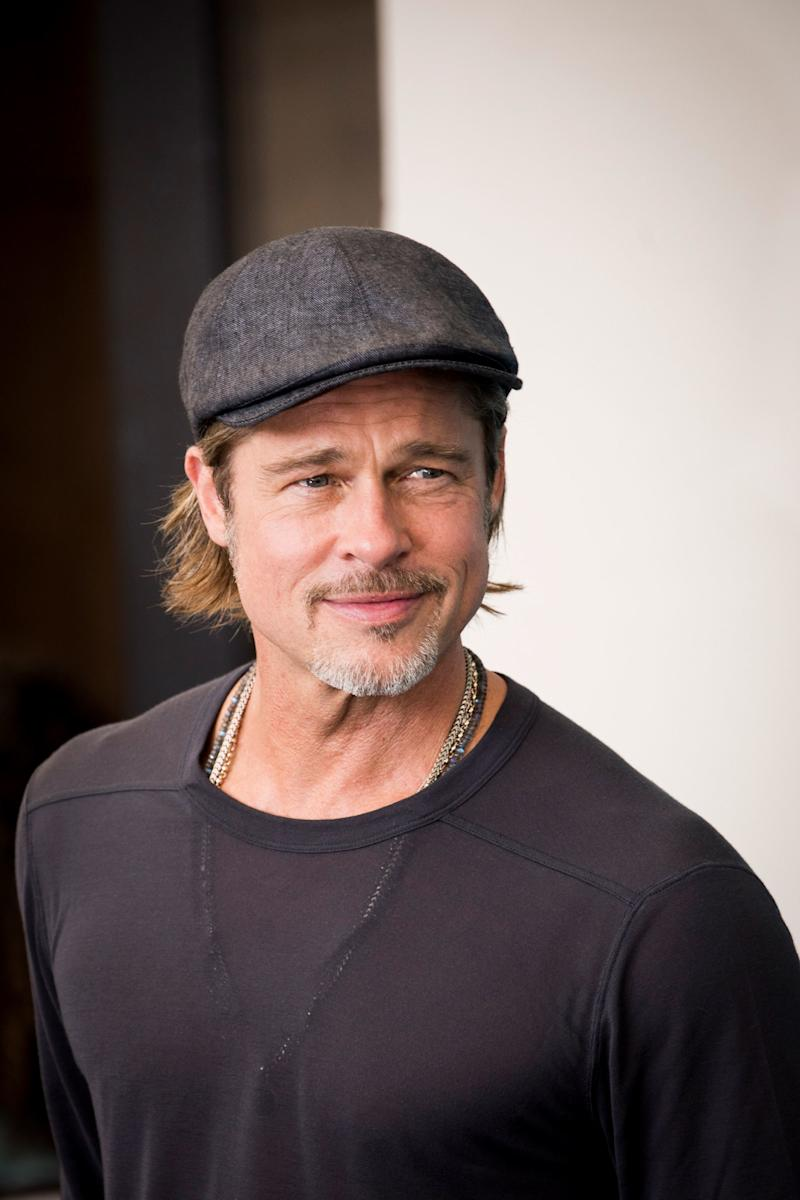 Brad Pitt Is Going to Fight Toxic Masculinity