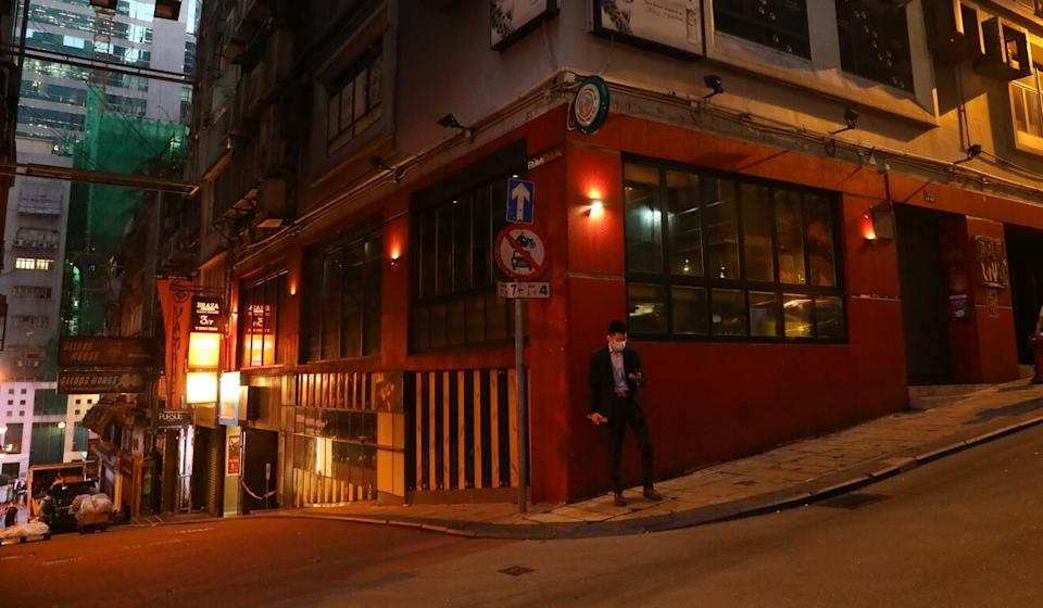 Bars again shut down on Thursday, this time for a week, as part of a strategy to limit the spread of the fourth Covid-19 wave. Photo: Dickson Lee