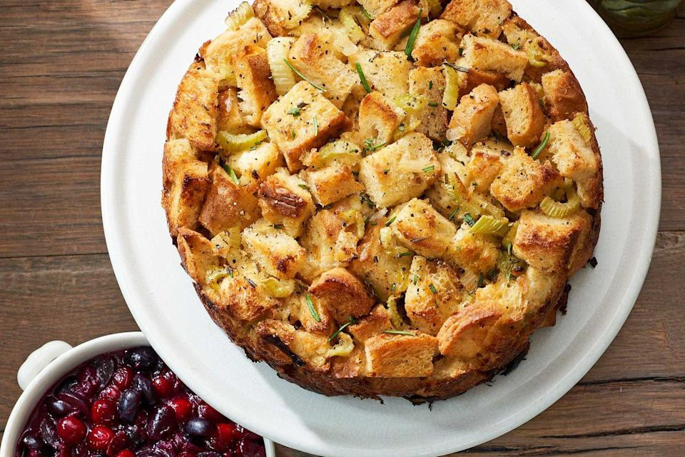 "<p>Serving stuffing by the slice may be the smartest idea since the first Thanksgiving.<br></p><p><strong><a href=""https://www.countryliving.com/food-drinks/recipes/a40026/rosemary-monkey-bread-stuffing-recipe/"" rel=""nofollow noopener"" target=""_blank"" data-ylk=""slk:Get the recipe"" class=""link rapid-noclick-resp"">Get the recipe</a>.</strong></p><p><a class=""link rapid-noclick-resp"" href=""https://www.amazon.com/Nordic-Ware-Leakproof-Springform-Inch/dp/B000237FSA/?tag=syn-yahoo-20&ascsubtag=%5Bartid%7C10050.g.896%5Bsrc%7Cyahoo-us"" rel=""nofollow noopener"" target=""_blank"" data-ylk=""slk:SHOP SPRINGFORM PANS"">SHOP SPRINGFORM PANS</a></p>"