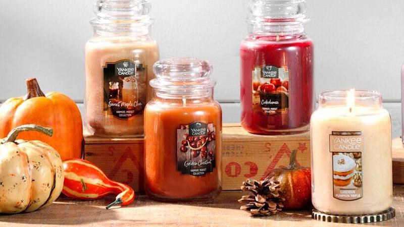 Buy up to three candles, get up to three free at Yankee Candle right now.