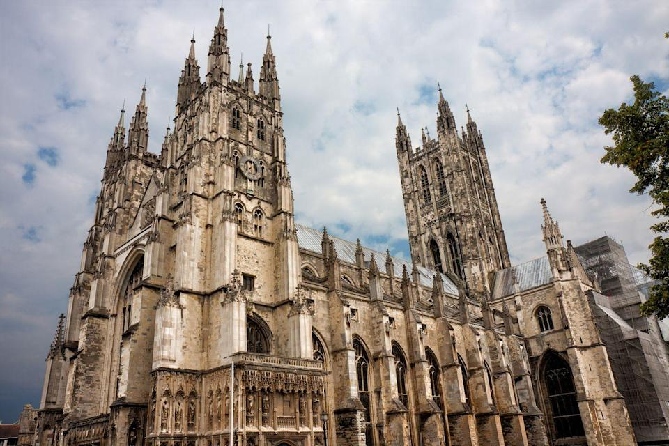 <p>Canterbury Cathedral is both an icon of British and church history. Its first archbishop, St. Augustine, arrived to the area as a missionary in 597 A.D.. It is the oldest church in England still in use. It's also likely the oldest organization in the English-speaking world.</p>