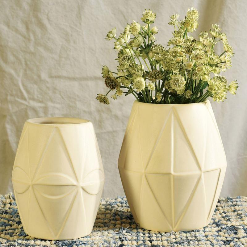 "<p>jungalow.com</p><p><strong>$59.00</strong></p><p><a href=""https://www.jungalow.com/collections/planters/products/diamond-ceramic-vase-set"" rel=""nofollow noopener"" target=""_blank"" data-ylk=""slk:Shop Now"" class=""link rapid-noclick-resp"">Shop Now</a></p>"