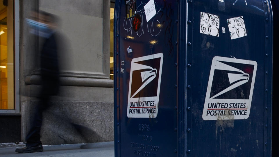 USPS letterbox. Source: Getty Images