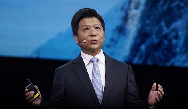 Huawei rotating chairman Guo Ping speaks at Huawei Connect in Shanghai, China, September 23, 2020. Photo: Reuters