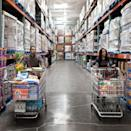 <p>There are no labels on the aisles for a reason. Part of Costco's business strategy is that it moves staple goods around in its stores often and doesn't have signage labeling where everything is. </p><p>This means customers spend more time looking for items, which makes it that much more likely that they'll pick up something they weren't planning on buying along the way.</p>