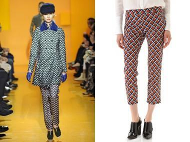Take a Stand in Printed Pants