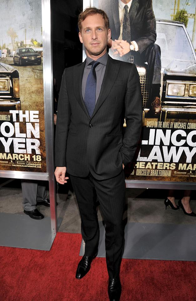 """<a href=""""http://movies.yahoo.com/movie/contributor/1800354375"""">Josh Lucas</a> at the Los Angeles premiere of <a href=""""http://movies.yahoo.com/movie/1810088161/info"""">The Lincoln Lawyer</a> on March 10, 2011."""