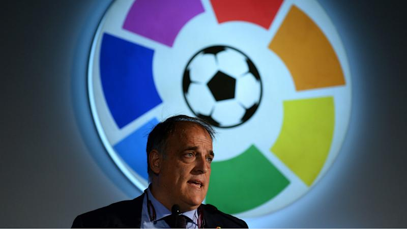'Football no more dangerous than factory work or fishing' - La Liga president critical of decision to end Ligue 1 season