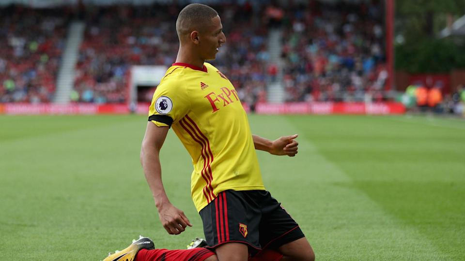 Richarlison has been involved in six goals in just his first eight Premier League games for the Hornets.