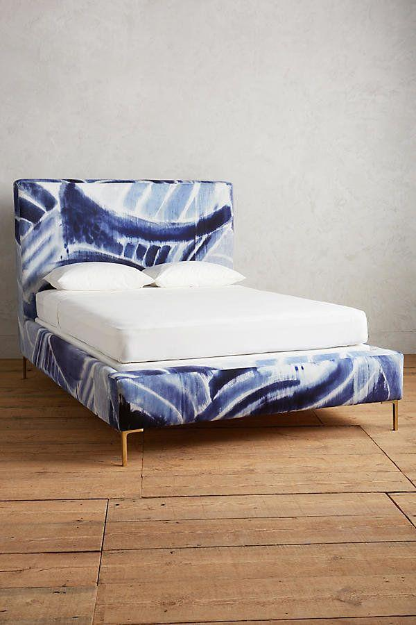 "Get it <a href=""https://www.anthropologie.com/shop/shibori-printed-edlyn-bed"" target=""_blank"">here</a>."