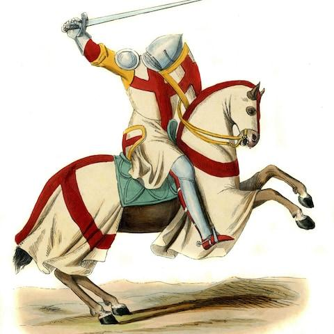 <span>Hundreds of the Knights Templar were executed on a Friday the 13th</span> <span>Credit: Culture Club </span>