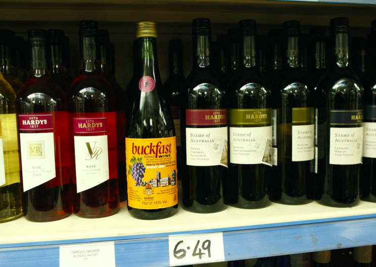Buckfast is battling it out with more established wines (Picture: Rex)