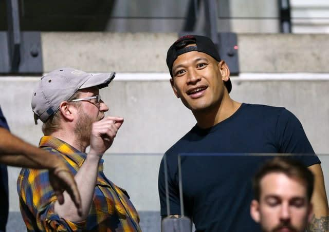 Folau will make his Catalans debut against Castleford (Nigel French/PA)