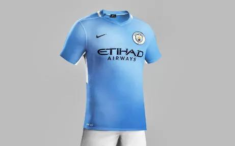 <p>Home comforts: Manchester City's home kit should look, well, not too different from their current one. </p>