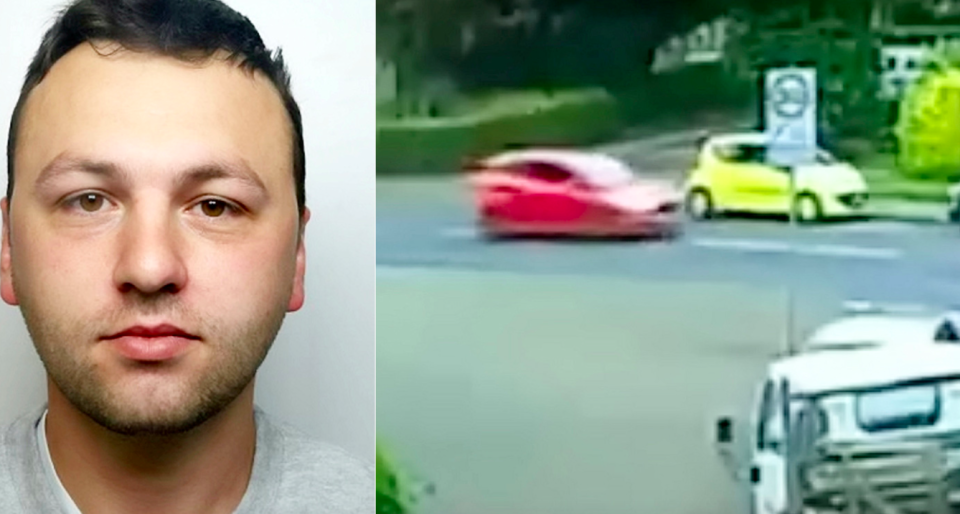 <em>David Barnes has been jailed for mowing down motorcyclist Stuart Hutchings (SWNS)</em>