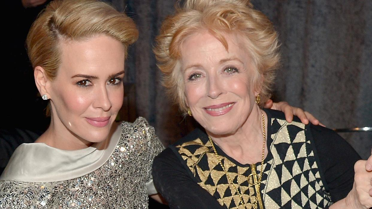 Sarah Paulson Confesses She's 'Absolutely' in Love with Holland Taylor