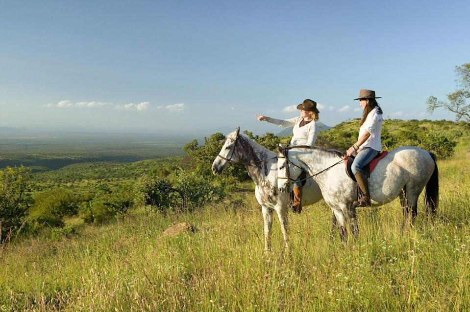 <p>Most places that offer horseback riding have Mother's Day deals, so consider going for a country ride with mom.</p>