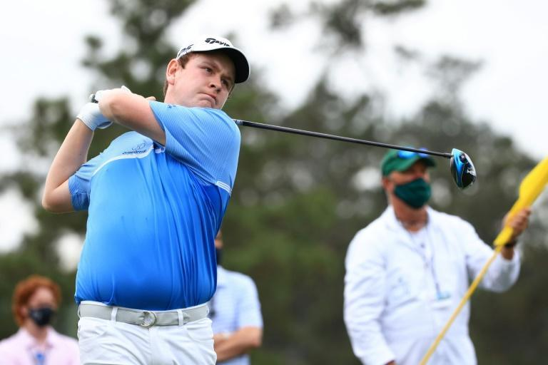Masterful lefty: Robert MacIntyre of Scotland on his Masters debut