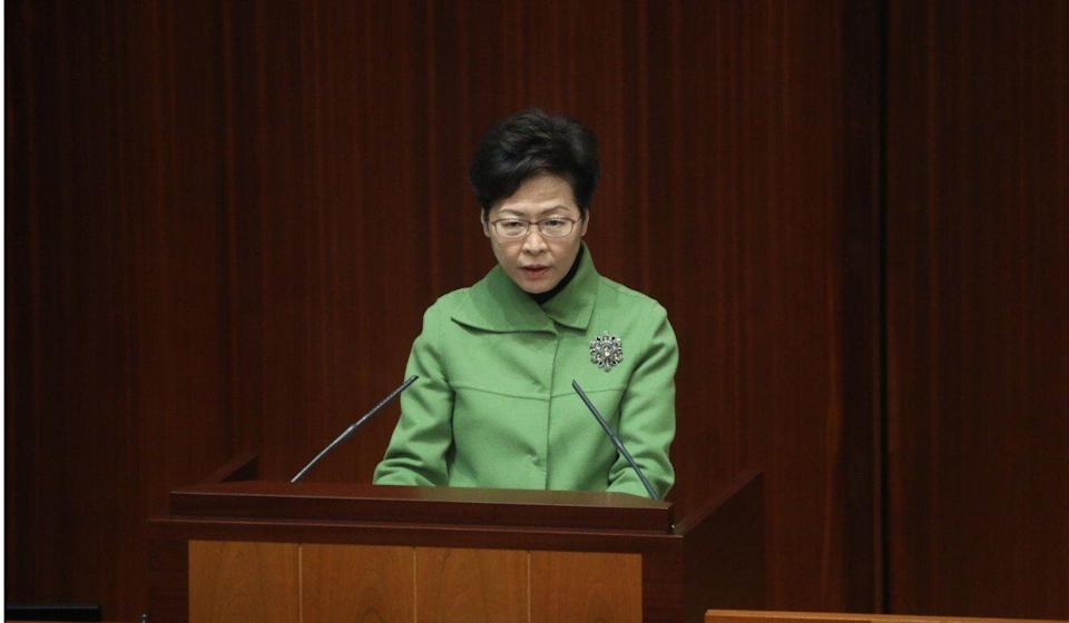 Chief Executive Carrie Lam addressed complaints over RTHK at a question-and-answer session at Legco on Thursday. Sam Tsang