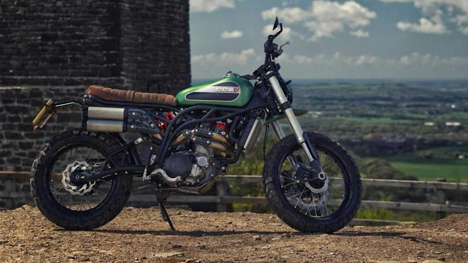 CCM Spitfire Maverick bike launched at around Rs. 10 lakh