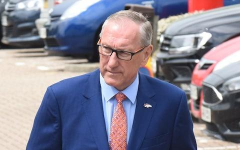 Former England football captain Terry Butcher arrives at Ipswich Coroners Court - Credit: Rob Howarth
