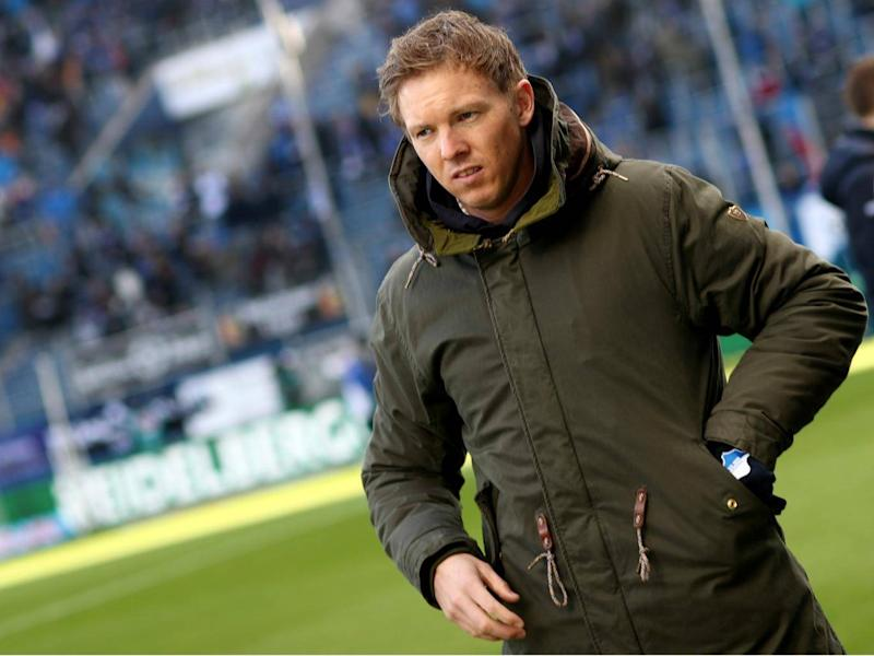 Nagelsmann has found 2017-18 more difficult (Getty)