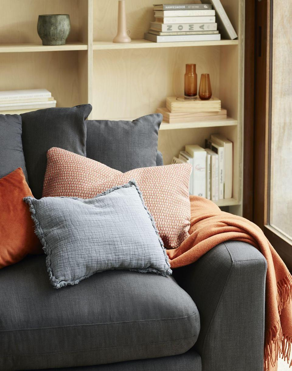 <p>One of the easiest ways to get your space set for cooler seasons is to create a sanctuary with throws, cushions and plush fabrics. As part of John Lewis' Natural Artisan trend, it's all about combining 'harmonious design, crisp neutrals and organic details'. <br><br>The team add: 'There's a nod to the artisanal too, bringing<br>a sense of craftsmanship to the everyday through organic shapes, tableware, clay-like ceramics and washed linens.' We can't wait to get our hands on these...<br></p>