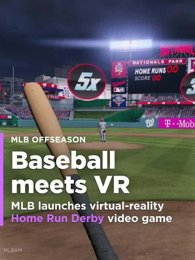 MLB launches virtual-reality Home Run Derby video game for consoles