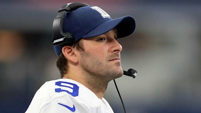 The Mavericks are giving Dallas fans a chance to say farewell to Cowboys great Tony Romo.