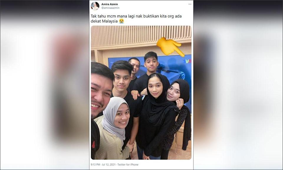 Azmin's daughter says family in M'sia, not Turkey