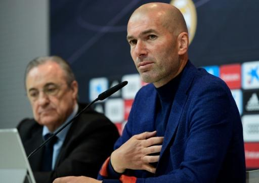 Zidane's announcement seemed to surprise Real Madrid president Florentino Perez