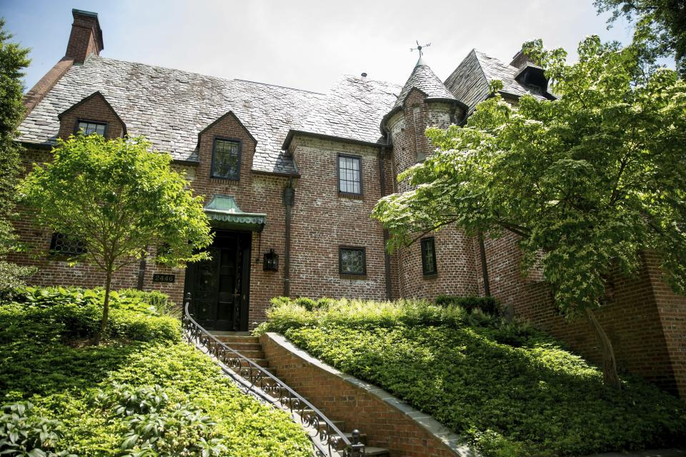 <em>The home of former President Barack Obama and first lady Michelle Obama in Washington (AP)</em>