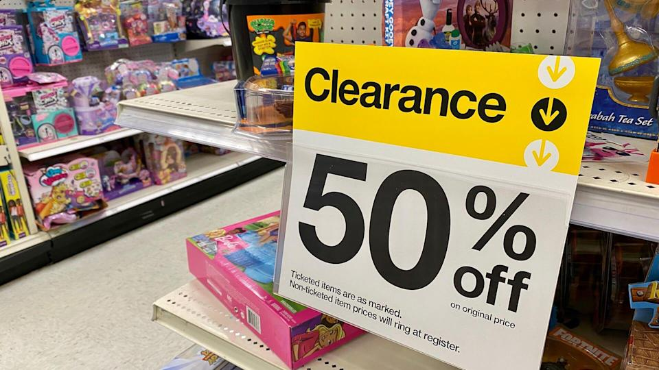 clearence end cap in target