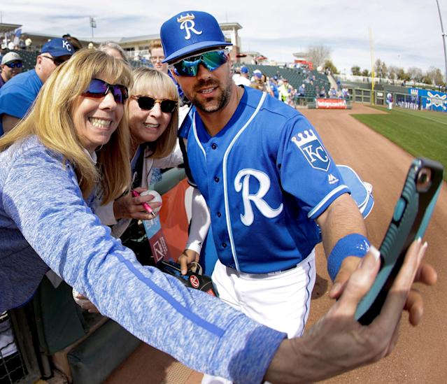 Whit Merrifield has plenty to offer the Kanas City faithful as well as fantasy players in 2019. (AP Photo/Charlie Riedel)