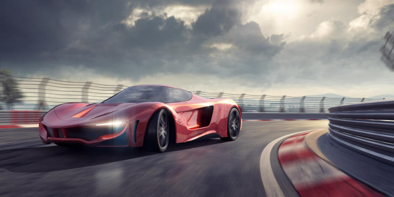 Drive a supercar at high speed. [Photo: Getty]