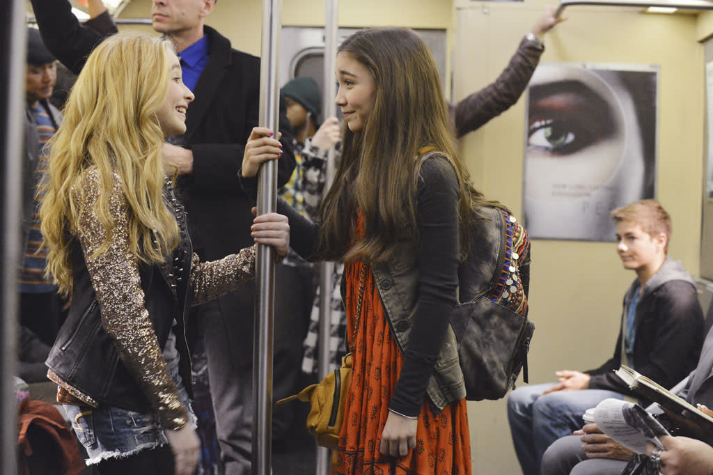 """Rowan Blanchard stars as Riley Matthews and Sabrina Carpenter is her best friend Maya. Danielle Fishel and Ben Savage reprise the """"Cory and Topanga"""" roles they made famous in ABC's hugely popular sitcom """"Boy Meets World"""""""
